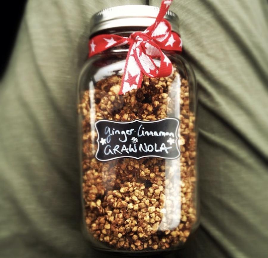 Rezept: Ingwer-Zimt Knusperlis Müsli Clusters