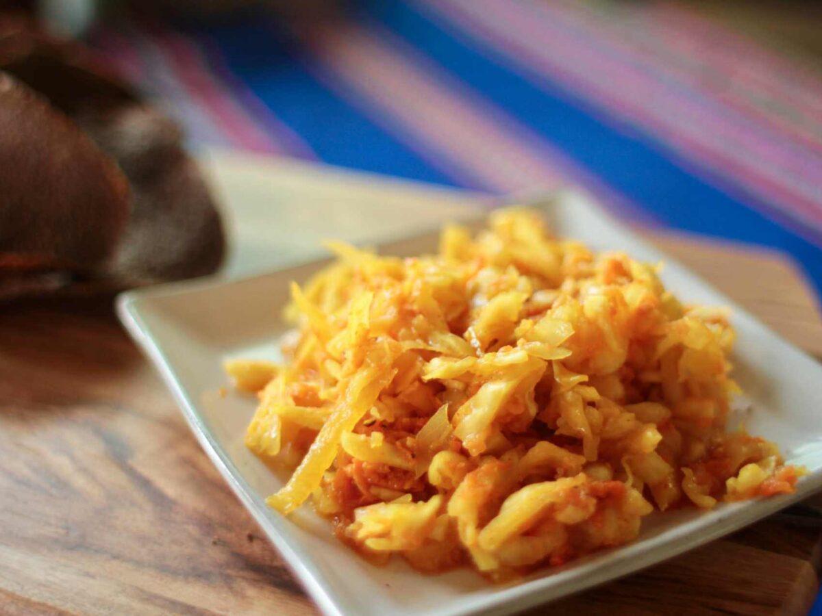 Recipe for raw vegan Kimchi