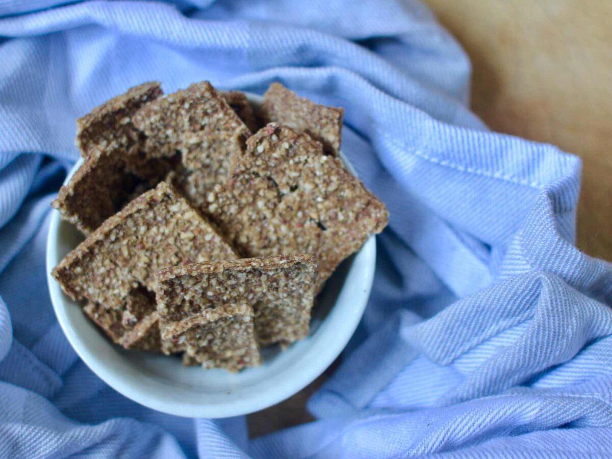 Recipe Hazelnut Pear Flatbread