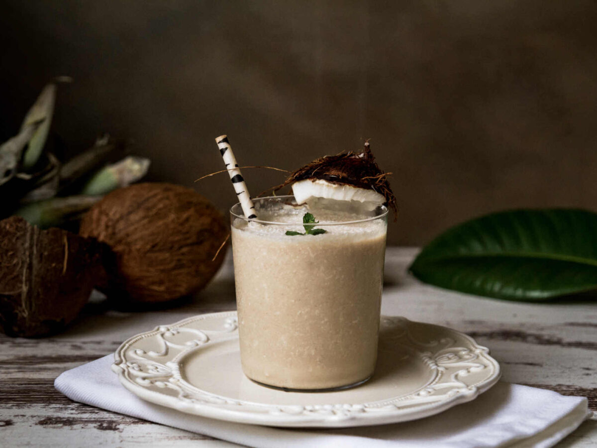 Recipe Iced Coconut Coffee