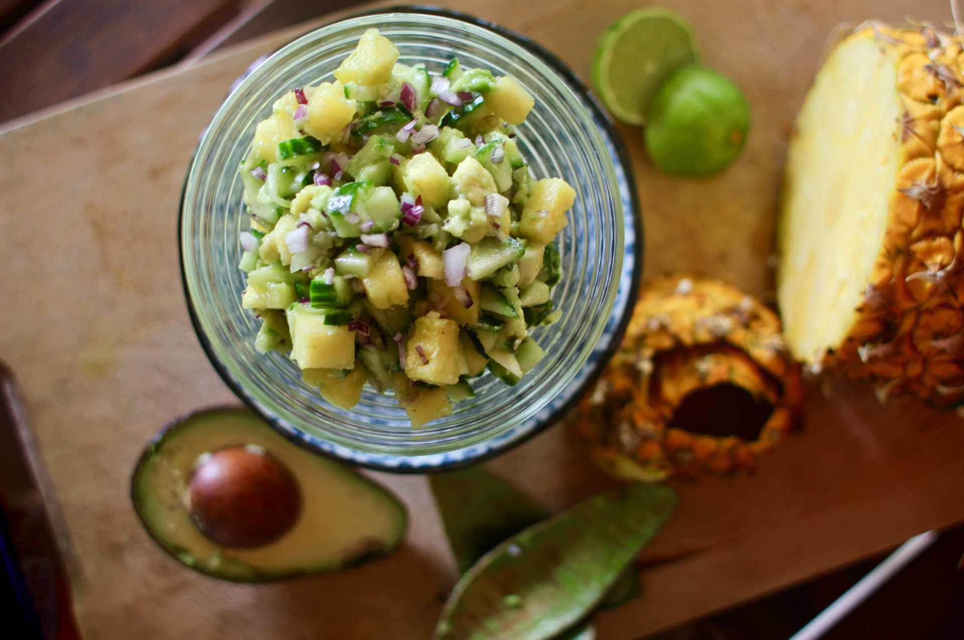 Recipe Pineapple Avocado Salsa