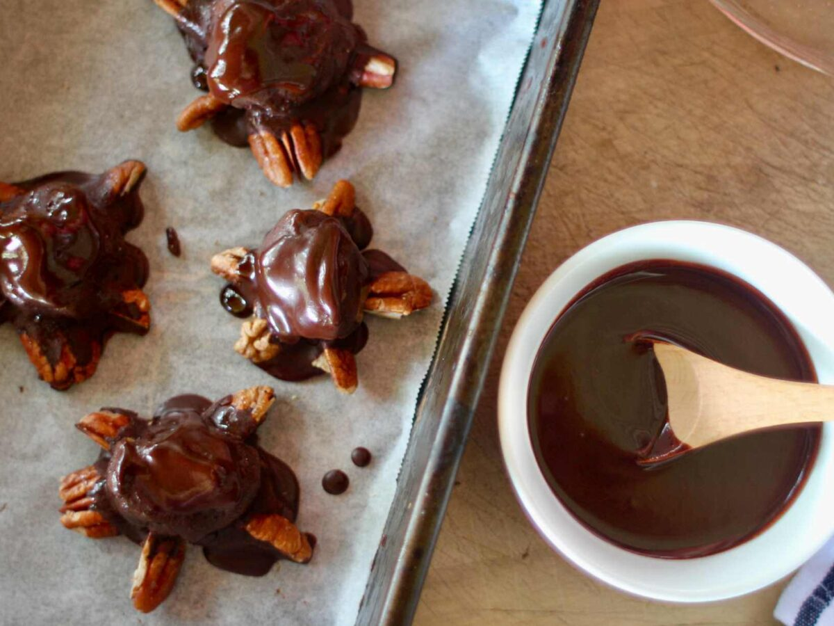 Recipe Raw Vegan Chocolate Turtles
