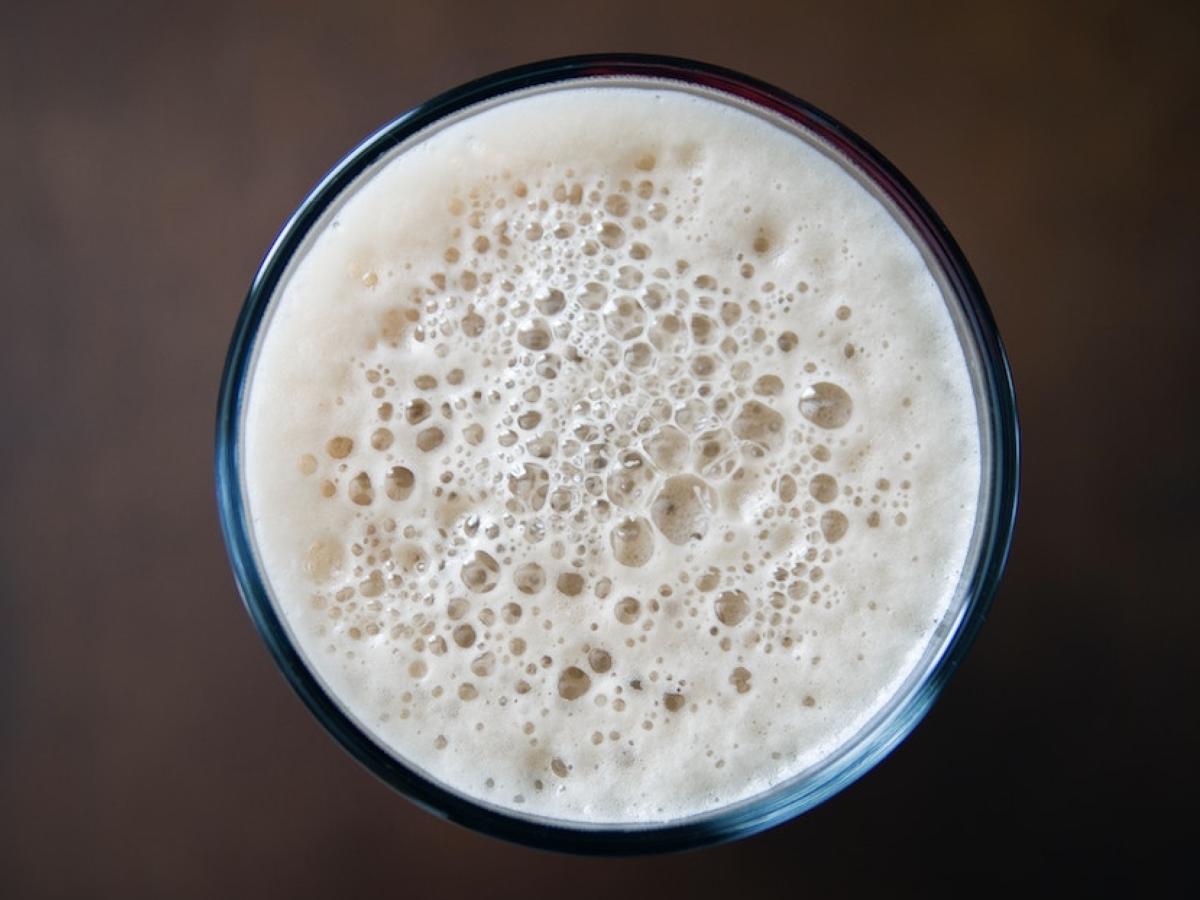 How to make raw vegan milk foam