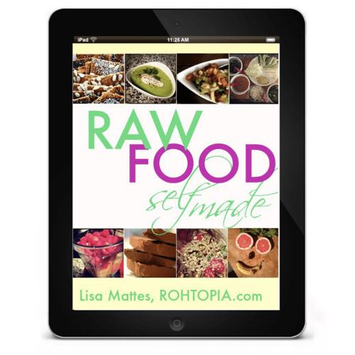 Raw Food Self Made – Raw Vegan Recipe Ebook by Lisa Rohtopia – Holistic Wellbeing – Nutrient Rich Foods.001