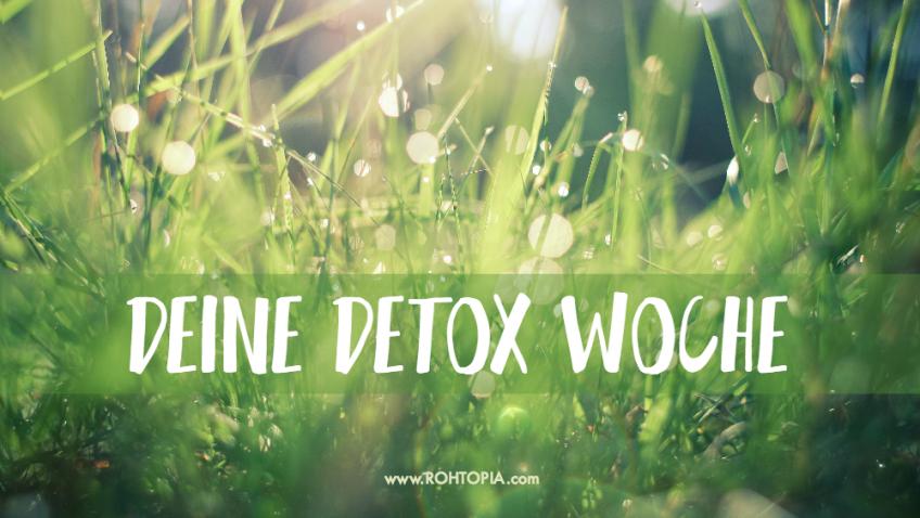 Deine Detox Woche