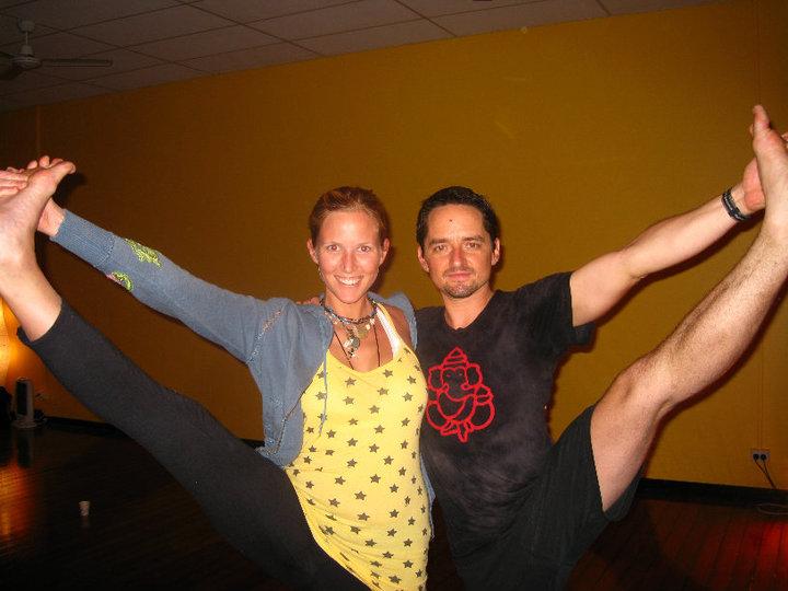 Noah Maze Yoga with Lisa Mattes Rohtopia at Shri Yoga Brisbane