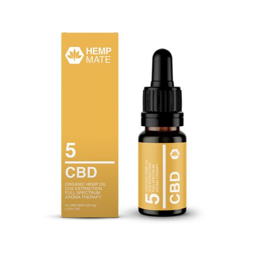 Hempmate – CBD 5 Prozent Öl – Full Spectrum – Volles Spektrum – Rohtopia